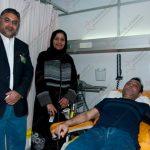 Pakistan Ambassador to Kuwait: Iftikhar Aziz donating blood during Blood Donation Camp organized by Pakistani Blood Donors in Kuwait
