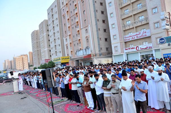 Kuwait bans open space eid prayers amid security concerns