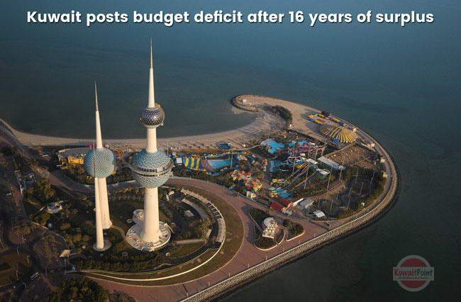 Oil rich Kuwait posts budget deficit after 16 years of surplus