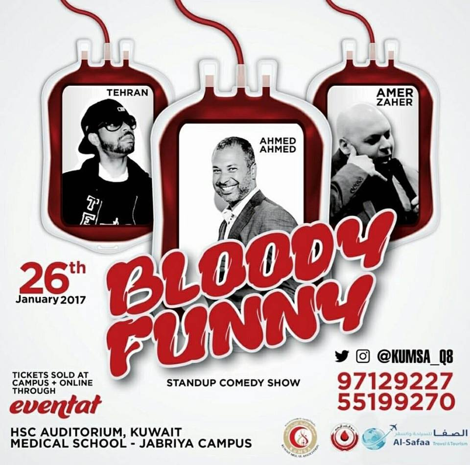 Bloody Funny Comedy Show
